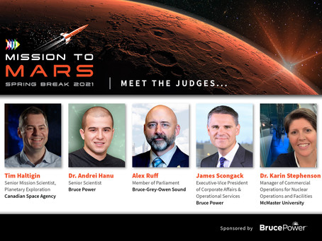 Meet the all-star judges for NII Explore's Spring Break Mission to Mars challenge