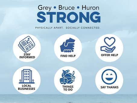 Grey•Bruce•Huron Strong app, website launched to keep people informed and in touch through Covid-19