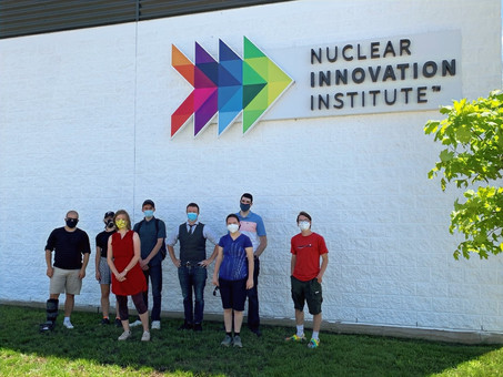Winning Mission to Mars Team Aquila reunites at NII