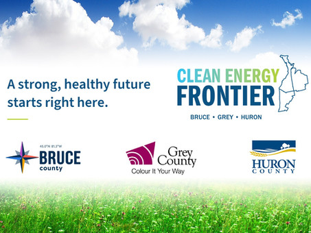 Bruce, Grey and Huron Counties join together to support a clean energy future