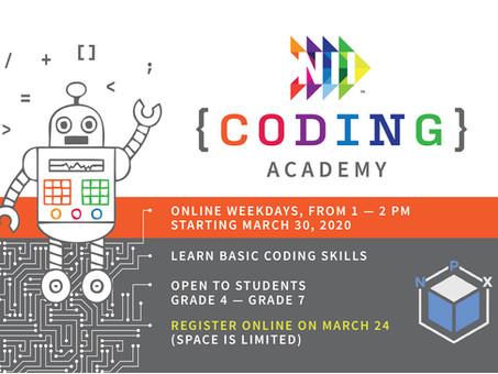 Boost brain power with NII Coding Academy!
