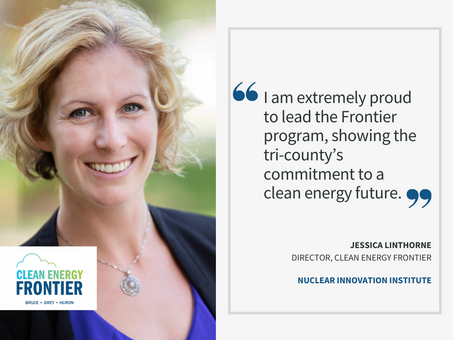 NII welcomes new Director of the Clean Energy Frontier program