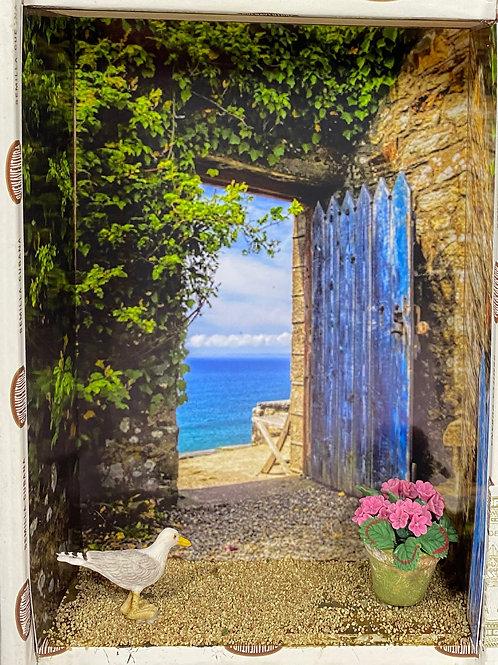 Blue Door to the Sea