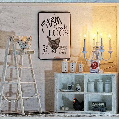 White Kitchen Storybox
