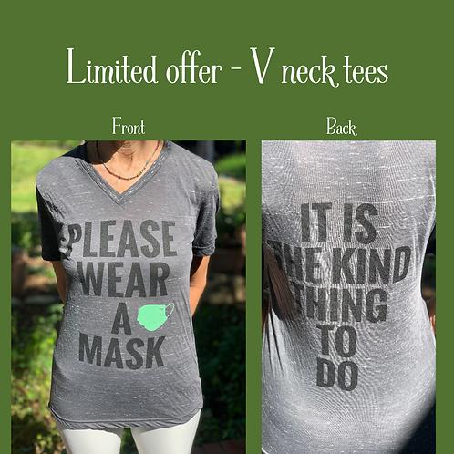 Wear a Mask Tee