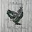 Thumbnail: Fancy series Chicken Magnet / Blue Parrot
