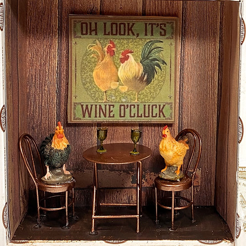 It's Wine o'Cluck