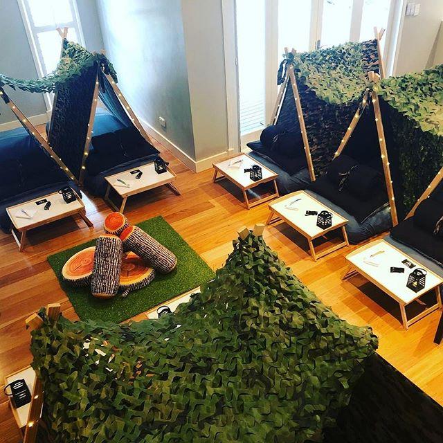 I love our camo setup, perfect for boys