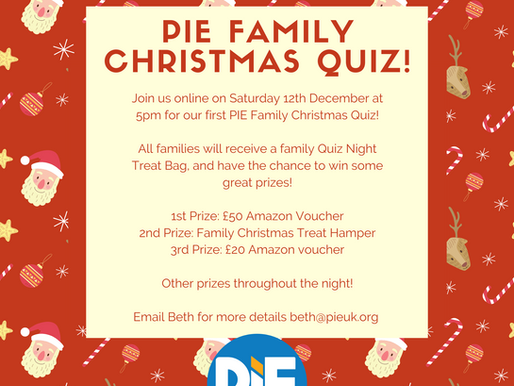 Come join our Christmas Family Quiz!