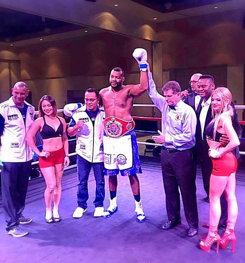 USBC Heavyweight Champion Malcom Tann