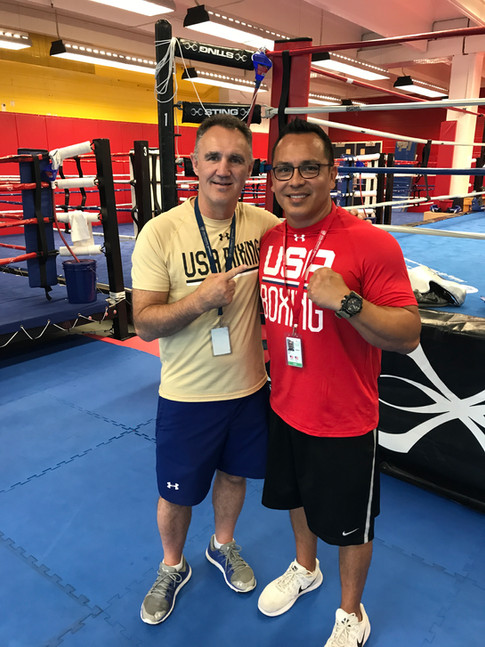 Billy Walsh USA Boxing Head Coach