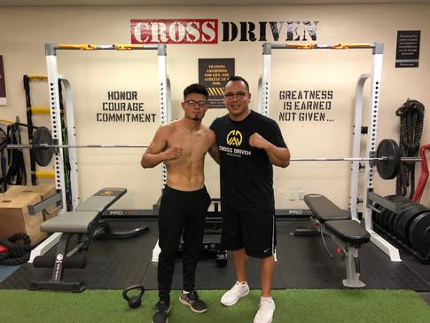 CDA Pro Boxer Jesus Ibarra