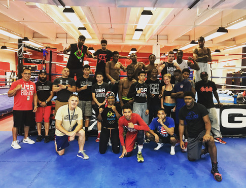 Team USA Boxing Training Camp