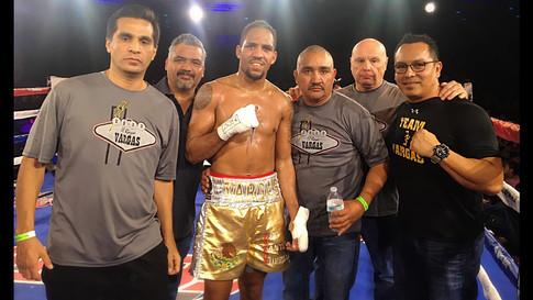 CDA pro boxer Eben Vargas 9-0