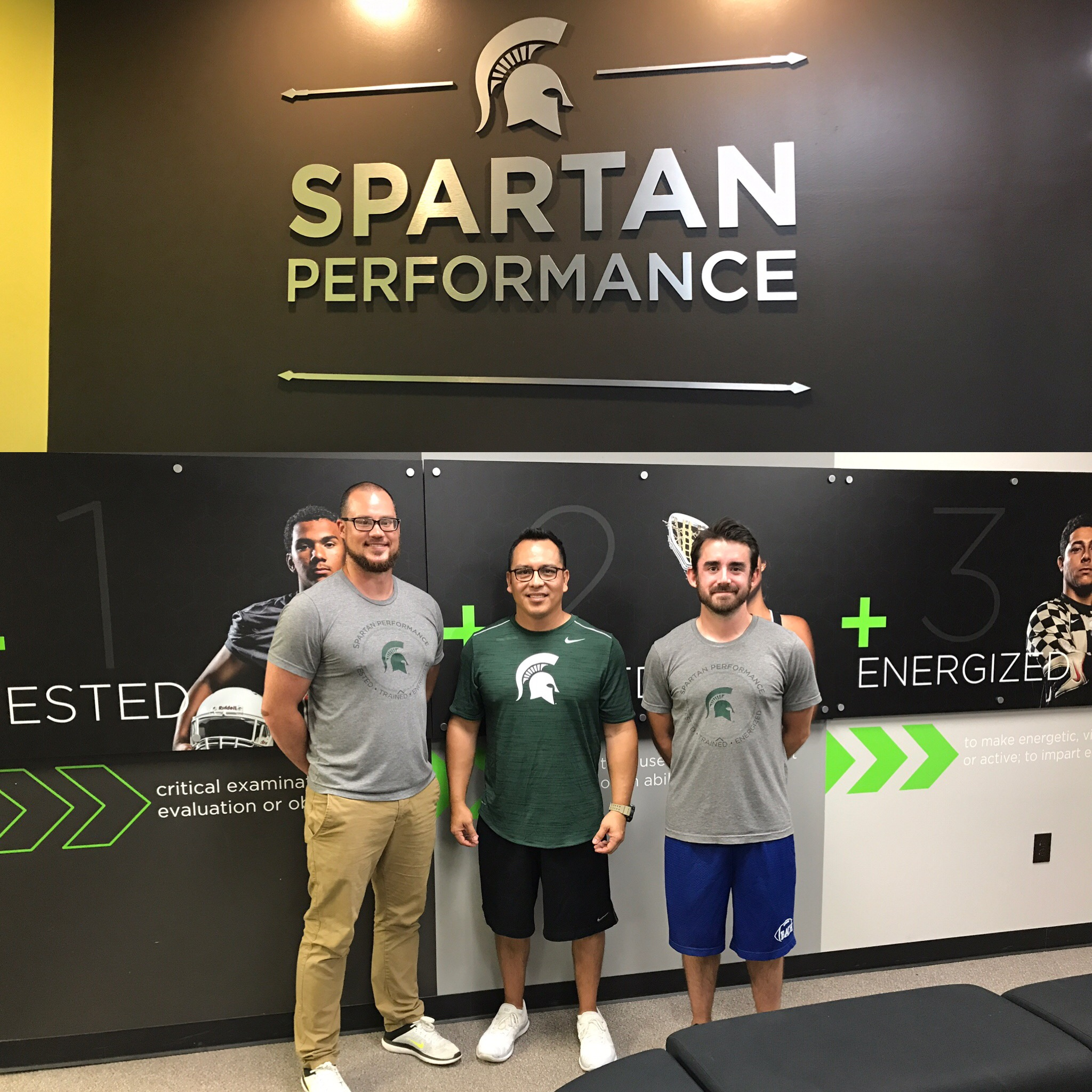 Michigan State Performance Training