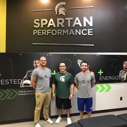 Michigan State Performance Training