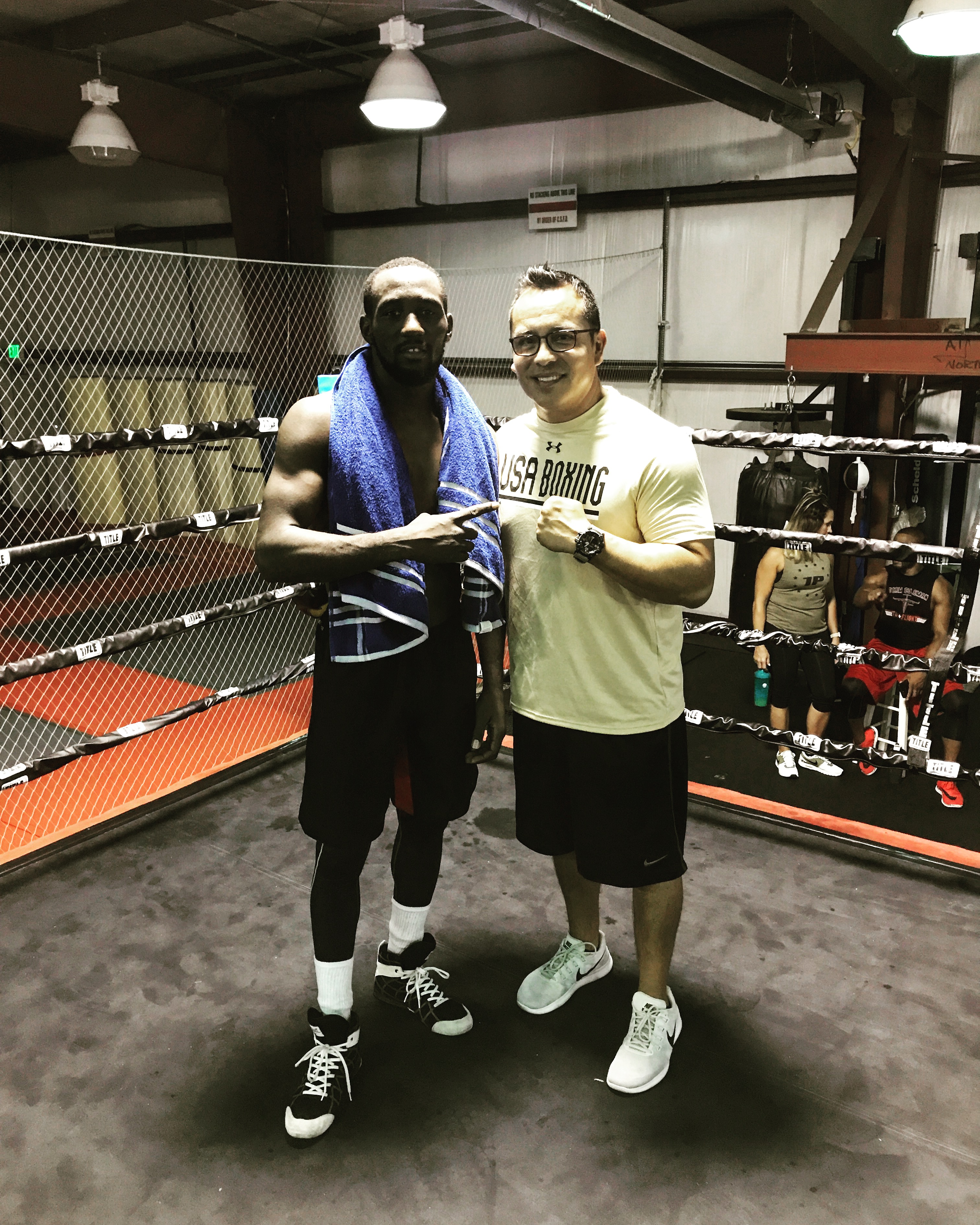 Terrance Crawford Training Camp