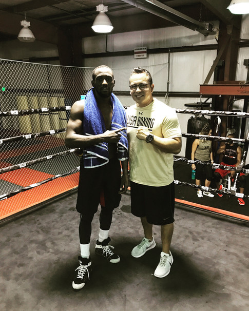World Champion Terrance Crawford Training Camp