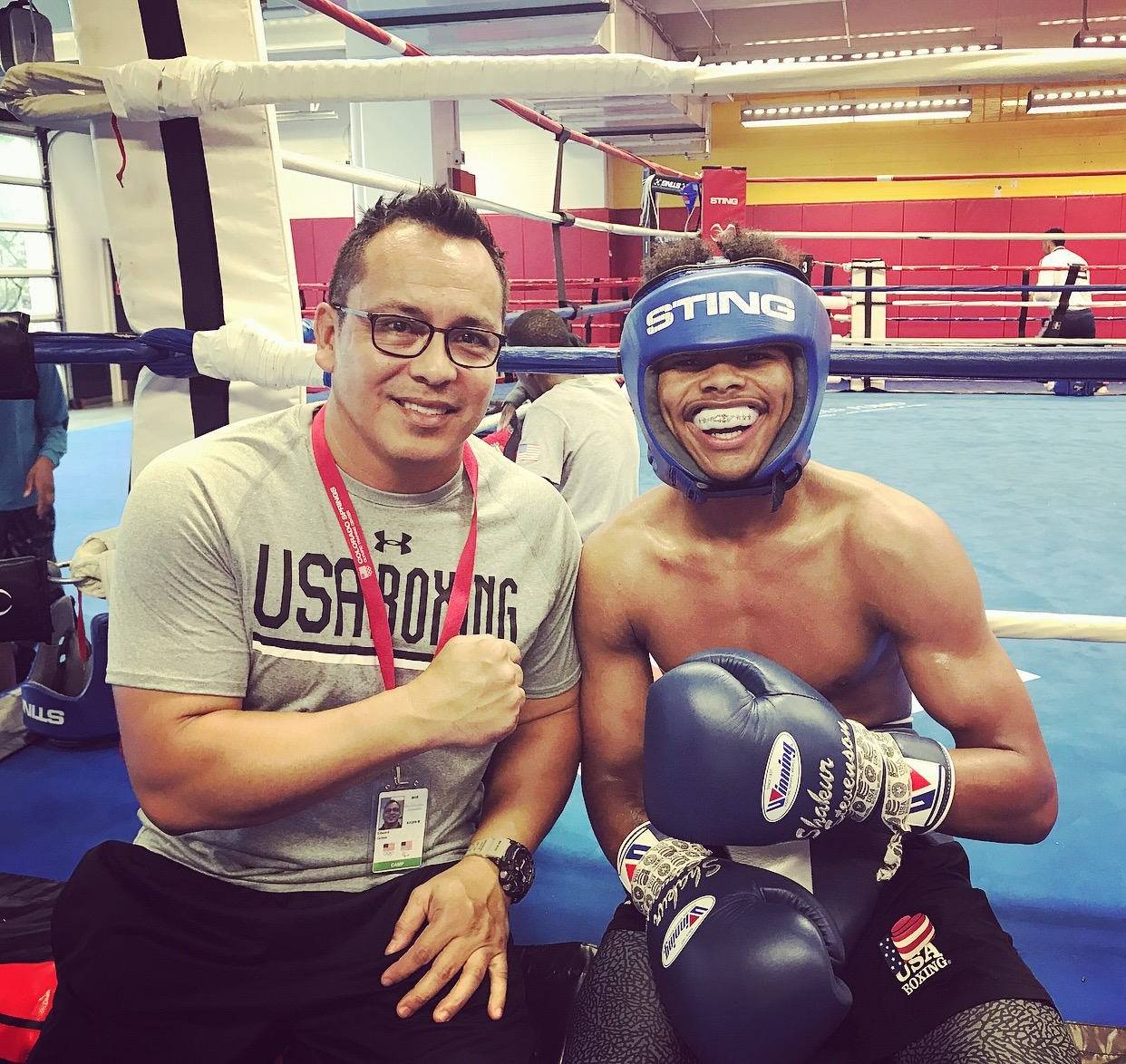Shakur Stevenson Training Camp
