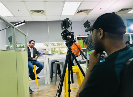 Podcast with CEO of Kreatis Medialoka(M) Sdn Bhd