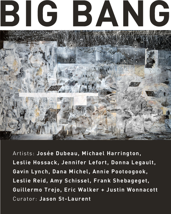 BIG BANG at OTTAWA's SAW GALLERY