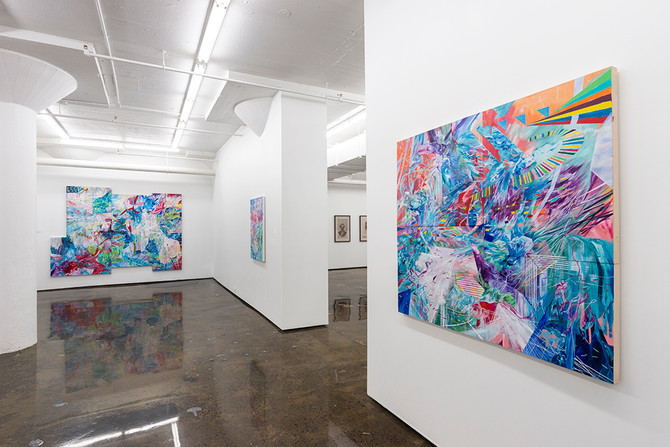 WORLDS A PART:  Amy Schissel's next Solo Exhibition at Montreal's Patrick Mikhail Gallery...
