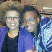 Angela Davis and B. Soleil