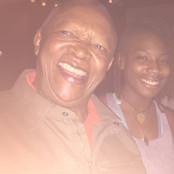 B. Soleil and Hugh Maskela during 2015 South African Jazz Festival