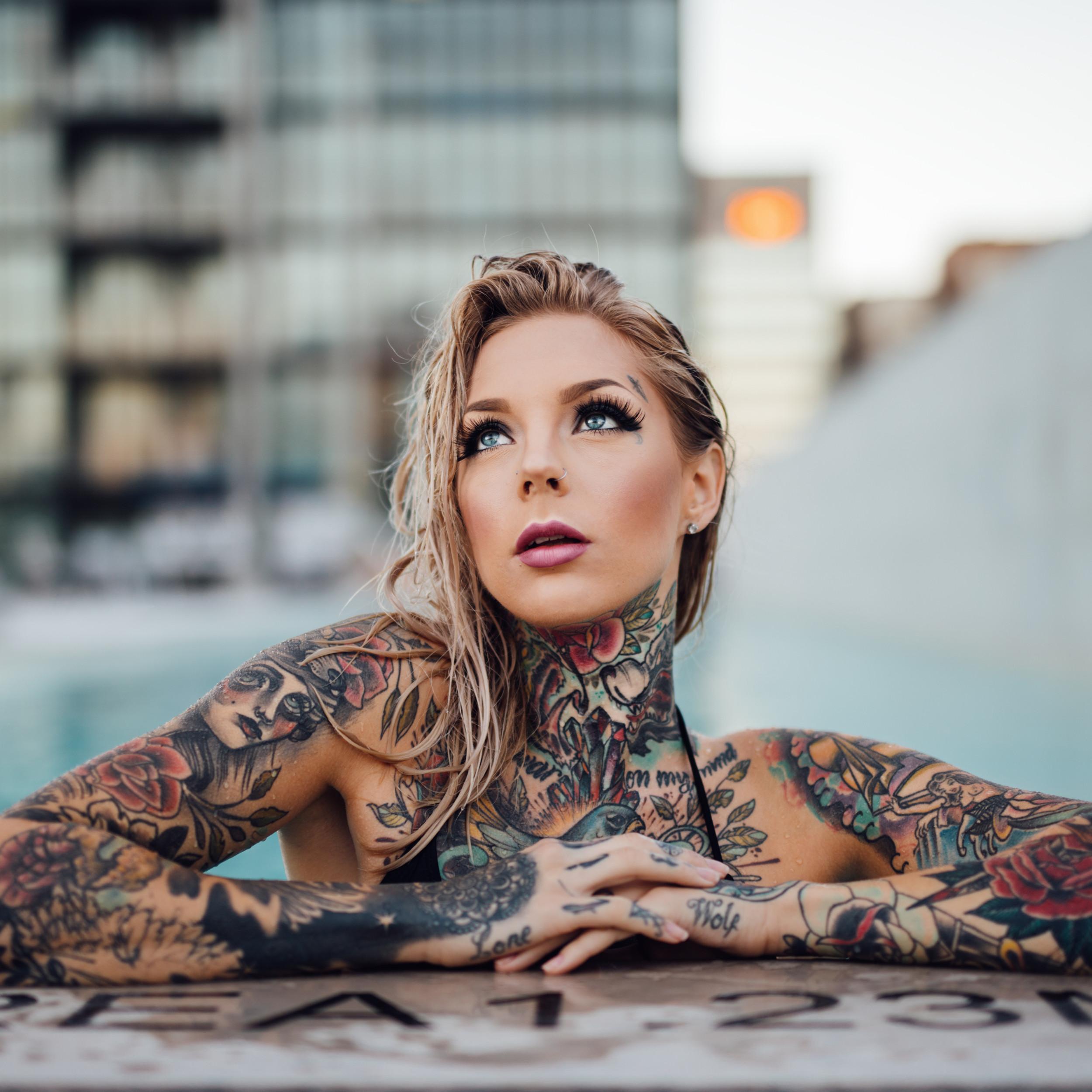 Ana Delia De Iturrondo Nude tattooed ladies   girls definitely in control