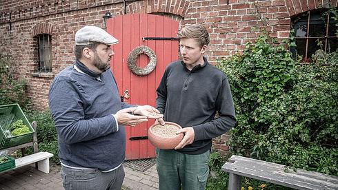 Björn und Johannes neue Ernte Lichtkorn