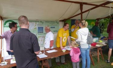 Rehfelde-EigenEnergie auf dem Potsdamer Umweltfest