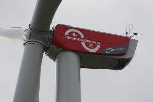 Windenergieanlagen am Netz