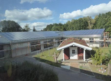 Photovoltaikanlage KiTa Fuchsbau fertig