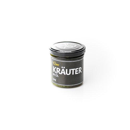 Kräuter in Öl