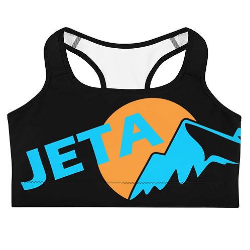 JETA Black Sports Crop