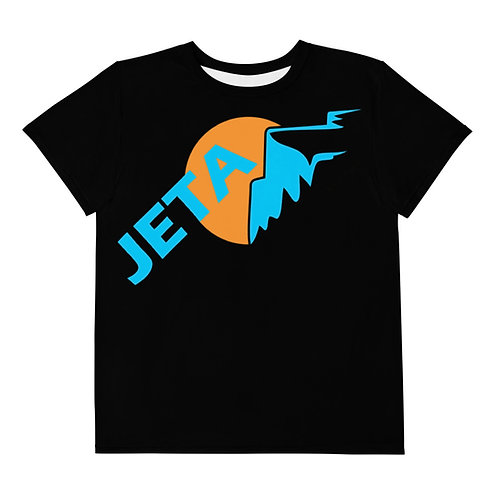 Teen Black JETA Logo t-shirt