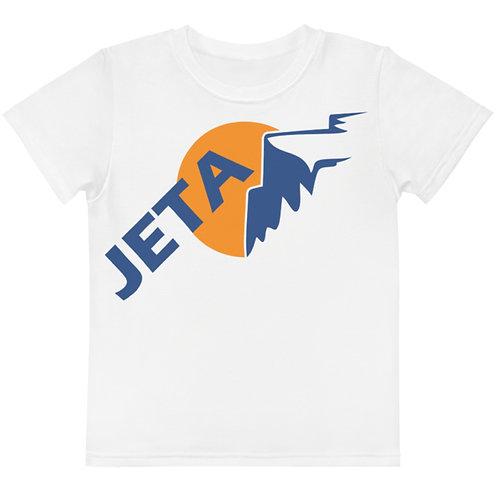 Kids White JETA Logo T-shirt