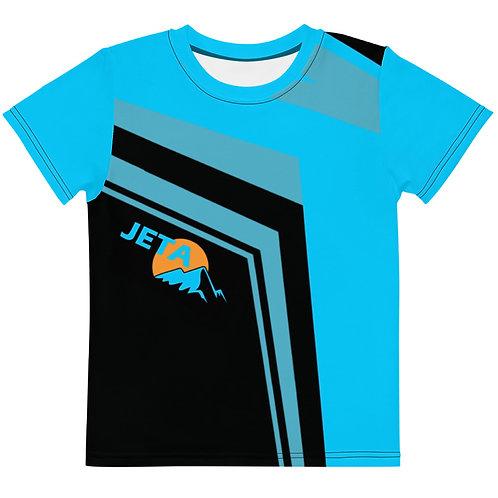 Kids JETA Blue Black T-shirt