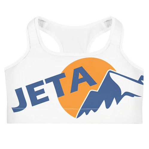 JETA White Sports Crop
