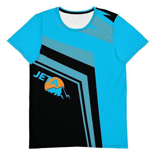 Men's JETA Blue Black Athletic T-shirt