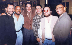 Mariano Morales & Humberto Ramírez, Chegüito Encarnación, Dave Valentín, Eliot Feijoo, Furito Ríos.