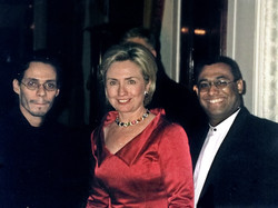 Mariano, Hillary Clinton y Marc Anthony