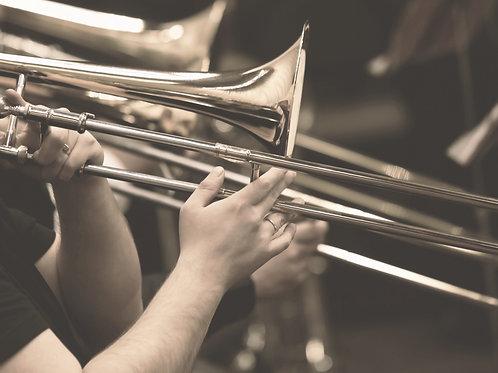 Y ahora que te has ido... for Trombone & Piano