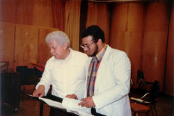 With Tito Puente