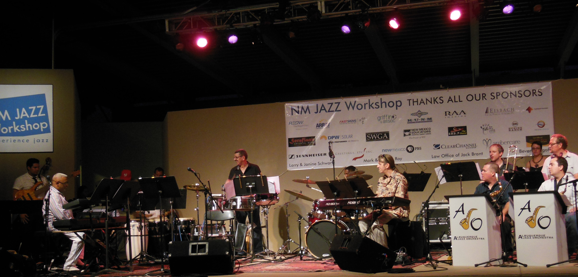 Mariano,Pikante with the Albuquerque Jazz Orchestra