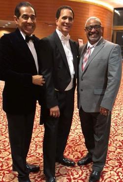 Nestor Torres, Guillermo Figueroa and Mariano Morales