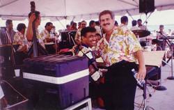 Mariano with El Gran Combo