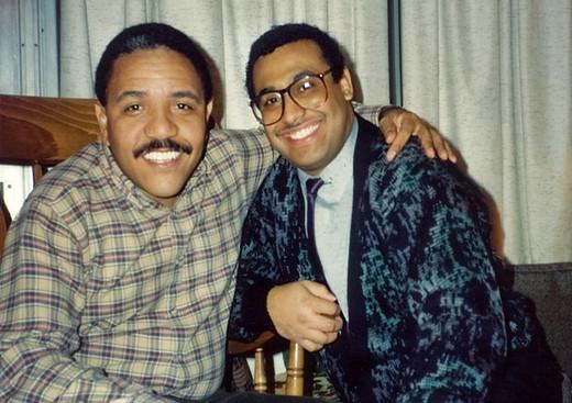 Mariano  con Ignacio Berroa Indiana 1990