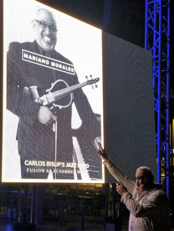 Mariano Morales _ the Aruba Jazz International Day Concert