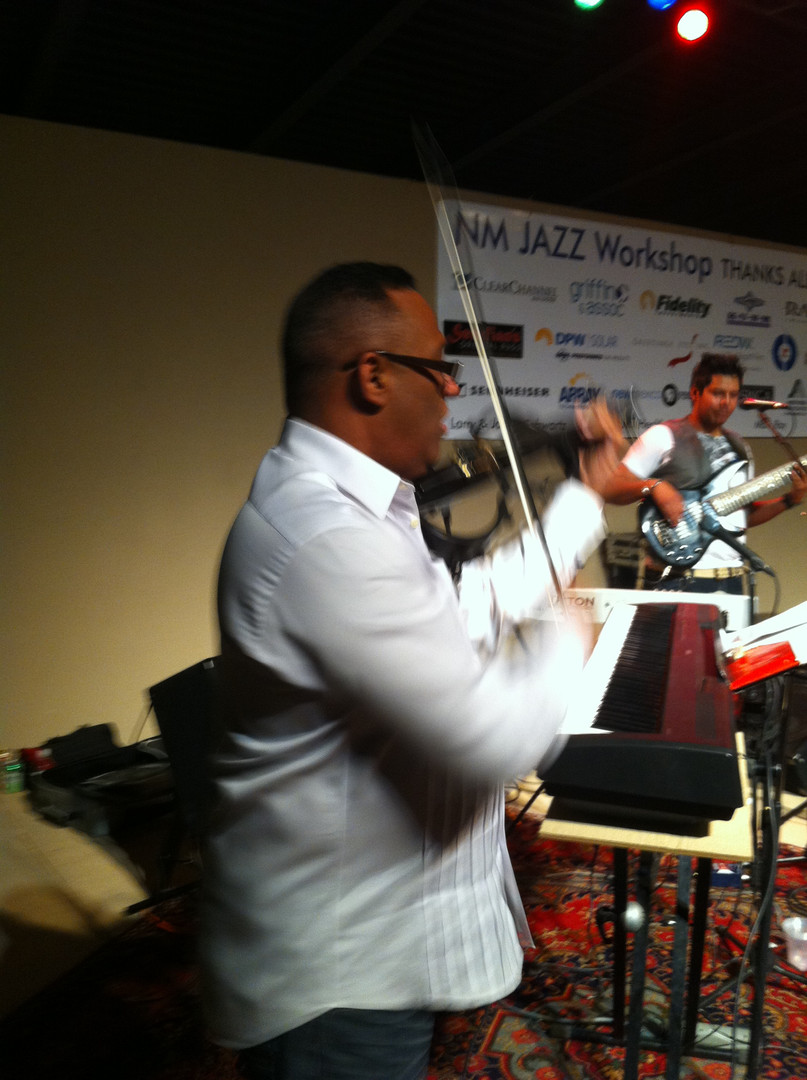 Mariano Morales New Mexico Jazz Workshop